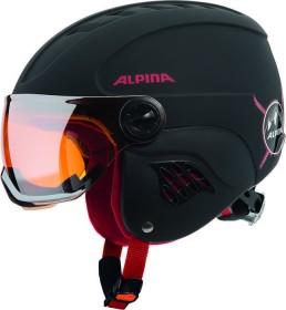 Alpina Carat LE Visor HM Helm schwarz/rot matt (Junior) (A9084.X.30)