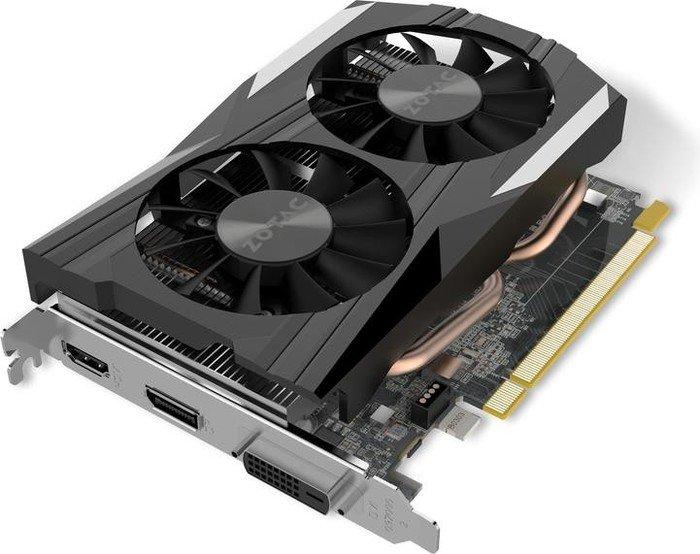 Zotac Geforce Gtx 1050 Oc 2gb Gddr5 Dvi Hdmi Dp Zt P10500c 10l