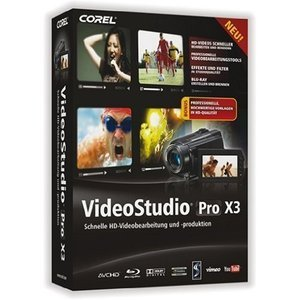 Corel: Video Studio Pro X3, EDU (multilingual) (PC) (VSPRX3MLDVDAEU)