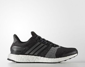 adidas Ultra Boost ST core black/iron metallic/dark grey heather solid grey (Herren) (BA7838)