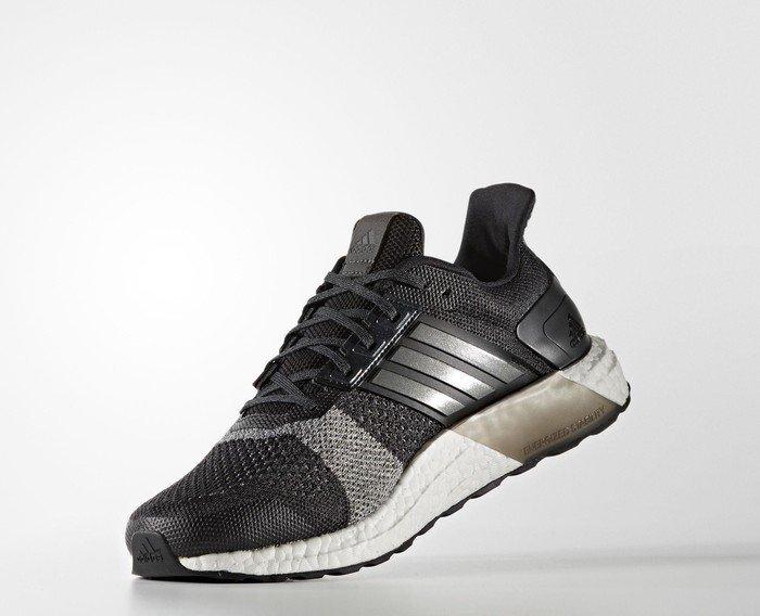 32fa0f808ee24 adidas Ultra Boost ST core black iron metallic dark grey heather solid grey  (men) (BA7838) starting from £ 153.46 (2019)