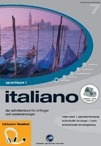 digital Publishing: interactive language tour V7: Italian Part 1 + headset (PC)