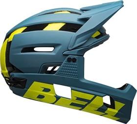 Bell Super Air R MIPS Fullface-Helm matte/gloss blue/hi viz (7113682/7113683/7113684)