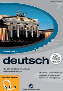 digital Publishing: interactive language tour V7: German Part 1 + headset (PC)