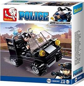 Sluban Police SWAT Buggy (M38-B0638C)