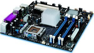 Intel D925XBCLK (dual PC2-4200U DDR2)
