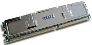 GeIL DIMM 512MB, DDR-466, CL2.5-3-3-7-1T (various types)