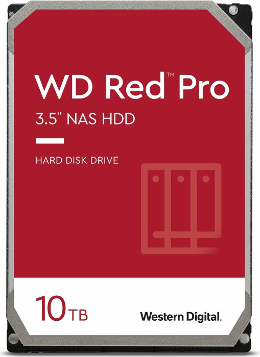 "Western Digital WD Red Pro 10TB, 3.5"", SATA 6Gb/s (WD101KFBX)"