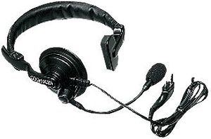 Kenwood KHS-7, Ohrhörer/Mikrofon