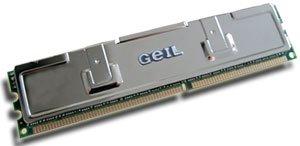GeIL DIMM 256MB, DDR-466, CL2.5-3-3-7-1T Platinum/Dragon Series