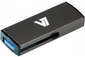 V7 Slide-In grau 16GB, USB-A 3.0 (VU316GDR-GRY-2E)