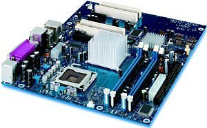 Intel D915PCY, i915P (dual PC2-4200U DDR2)