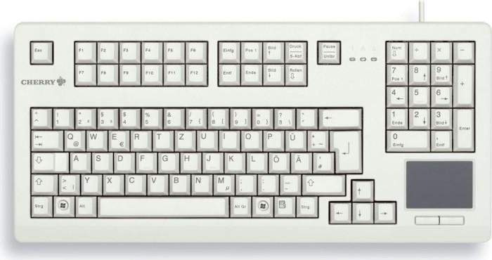 Cherry TouchBoard hellgrau, USB, DE (G80-11900LUMDE-0)