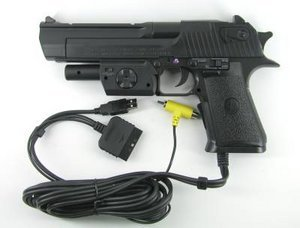 Thrustmaster Desert Eagle Lightgun (PS1/PS2)
