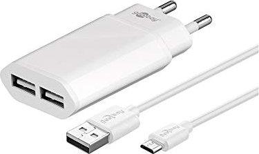 Wentronic Goobay Slim USB-Ladegerät weiß (45172) -- via Amazon Partnerprogramm