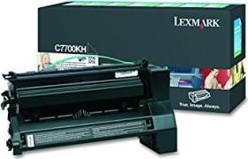 Lexmark Return Toner C7700KH black high capacity