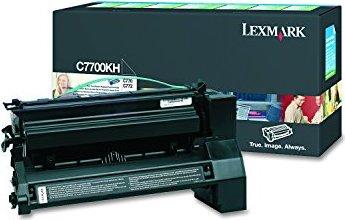 Lexmark C7700KH Return Toner schwarz hohe Kapazität -- via Amazon Partnerprogramm