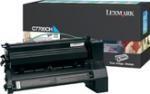 Lexmark Return Toner C7700CH cyan hohe Kapazität