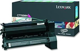 Lexmark Return Toner C7700MH magenta high capacity
