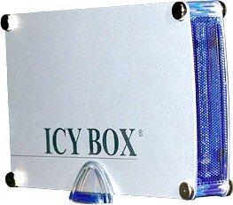 "RaidSonic Icy Box IB-351UE-BL silber, 3.5"", USB-B 2.0/FireWire (21355)"