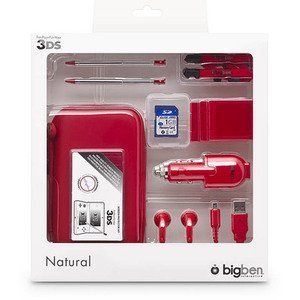 BigBen natural pack for Nintendo 3DS, red (DS)