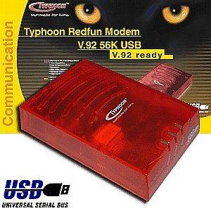 Anubis Typhoon Redfun Modem V.92 56K USB (51303)