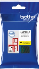 Brother Tinte LC3619XLY gelb