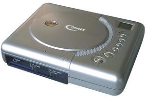 Anubis Typhoon Flash 2 CD Writer Zewnętrzne USB2.0 (83064)