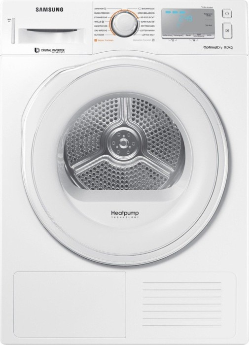 Samsung DV8XM6213EW/EG heat pump dryer