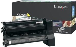 Lexmark C7700YS Return Toner gelb -- via Amazon Partnerprogramm