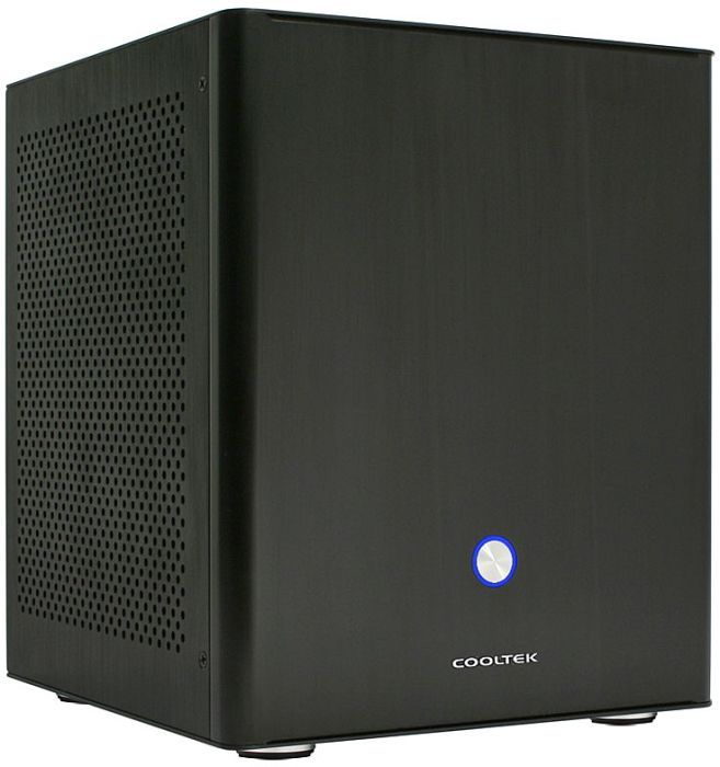 Cooltek Coolcube black, mini-ITX (600045960) -- © pc-cooling.de