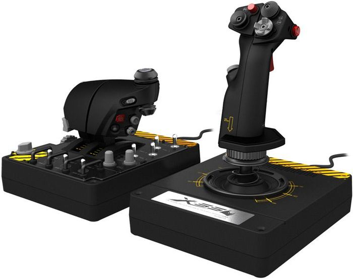 Saitek Pro Flight X-55 Rhino H.O.T.A.S. System, USB (PC)
