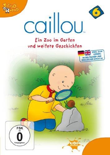 Caillou Vol. 6: Ein Zoo im Garten und weitere Geschichten -- via Amazon Partnerprogramm