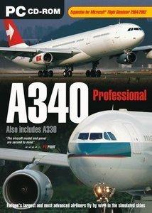 Flight Simulator 2004 - A340 Professional (Add-on) (niemiecki) (PC)