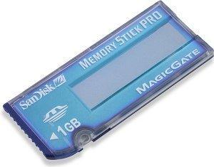 SanDisk Memory Stick (MS) Pro Blue Label 1GB (SDMSV-1024) -- © SanDisk