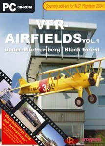 Flight Simulator 2004 - VFR Airfields Vol.1 (Add-on) (German) (PC)