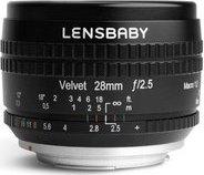 Lensbaby Velvet 28mm 2.5 für Canon EF schwarz
