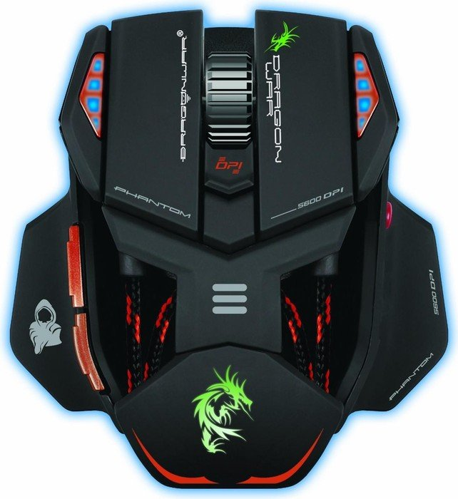 Dragon War phantom Gaming Mouse, USB (ELE-G4)