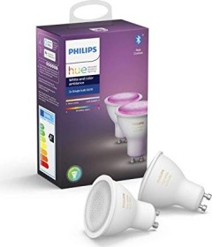 Philips Hue White and Color Ambiance GU10 5.7W, 2er-Pack (629250-00)