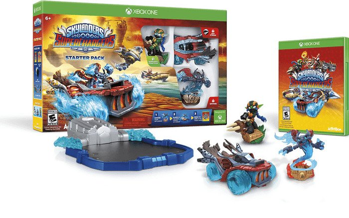 Skylanders: Superchargers - Starter Pack (deutsch) (Xbox One)