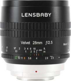 Lensbaby Velvet 28mm 2.5 für Fujifilm X schwarz