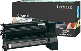 Lexmark Return Toner C7720KX black