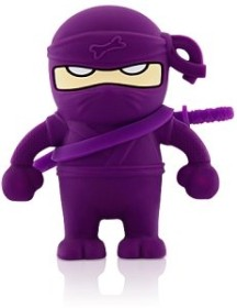 Bone Ninja Driver violett 4GB, USB-A 2.0 (80393)