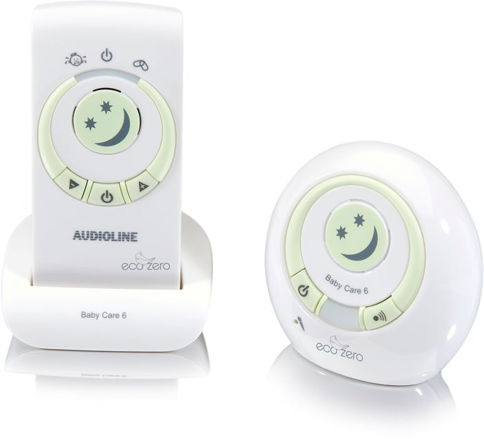 Audioline Baby Care 6 Eco Zero Babyphone Digital