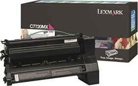Lexmark Return Toner C7720MX magenta