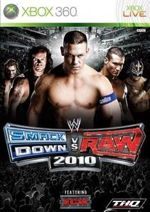 WWE Smackdown! vs. Raw 2010 (deutsch) (Xbox 360) (25758)