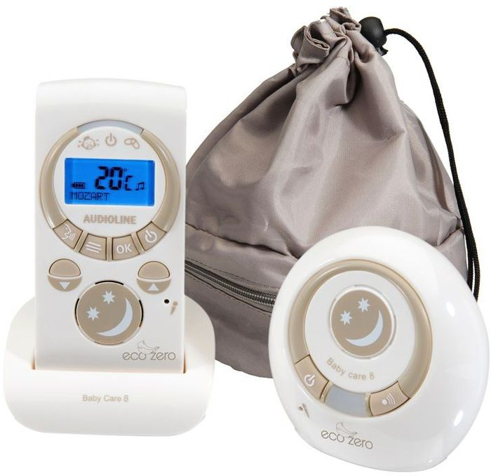 Audioline Baby Care 8 Eco Zero Babyphone Digital