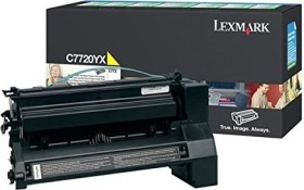 Lexmark Return Toner C7720YX gelb