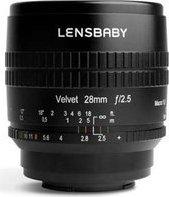 Lensbaby Velvet 28mm 2.5 für Nikon Z schwarz
