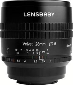 Lensbaby Velvet 28mm 2.5 für Sony E schwarz